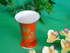 Vase 13 cm, Villeroy & Boch Porzellan, Chinesisch rot