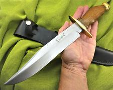Jagdmesser Messer  Bowie Buschmesser Damast Machete GROSS Stahl Holzgriff (3300)