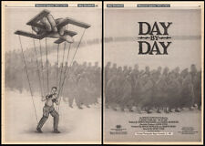 DAY BY DAY aka TRIUMPH OF THE SPIRIT__Orig. 1987 Cannes Trade AD/ poster__boxing
