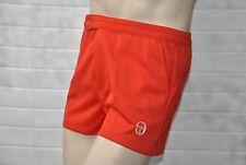 Sergio TACCHINI pantaloni sportivi pantaloncini rosso 70er True Vintage Sport Trunks turn Pantaloni