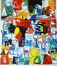 "JAN VOSS "" Compostion "" limited edition 26/30 Hand signed German artist Hamburg"