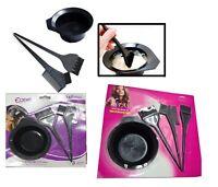 Hair Tint Brush Color Dye Kit Comb Brushes Bowl Salon Mixing Colouring Tool Set