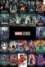 Marvel Universe Movies (DVD) Avengers, Captain America, Ironman, Ant-man, Venom