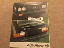1980/81 ALFA ROMEO ALFASUD 1.5 Ti - UK FOLDER BROCHURE