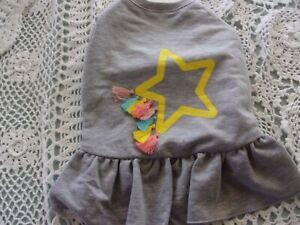 Star FRINGE Dog Dress new pet M Top Paw puppy Medium