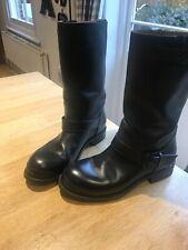 Bottega Veneta Black biker boots - 36.5