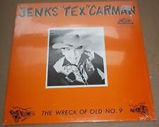 """JENKS """"TEX"""" CARMAN - The Wreck of the Old Vol.9 - Old Homestead OHCS-302 SEALED"""