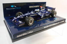 Modellini statici di auto da corsa in edizione limitata pressofuso Williams