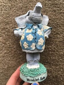OVER THE HILL Wrinkled Relic Elephant Bobblehead Retirement Fun Collectable RARE