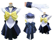 Sailor Moon Sailormoon Cosplay Costume Amara Uranus with Glove and Tiara