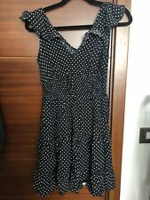 Black White Polka Dot Dress 12