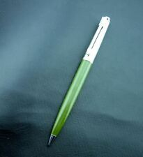 Vintage Chrome & Army Green PARKER Mechanical Pencil Writing Instrument