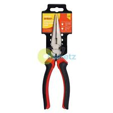"8"" Superior Long Nose Plier Jewellery Craft Beading Tool Dual Colour Handle"