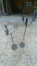 Metal/Cast iron fish bowl plant stands