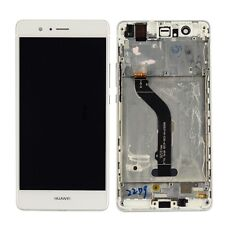 For Huawei P9 Lite Full LCD Display Touch Screen Digitizer Assembly+Frame White