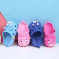 Children Shoes Boy Girl Cartoon Summer Anti-slip Slippers Kids Baby Sandals