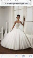 Madeline Gardner New York- volume 7- Celia 5100. Wedding Dress Size 8