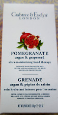 CRABTREE & EVELYN Pomegranate ULTRA MOISTURISING Hand Therapy 3.5 OZ New BOXED