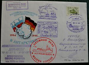 Russland Forster Deutschland Antarctica Antarctic russische Antarktis Polarpost