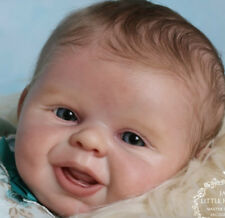 "Mical By Bonnie Leah Sieben Reborn Baby Doll Kit @ 20"" @Soft Line Vinyl *Boy*"