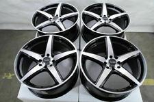"16"" Wheels Honda Accord Civic Miata Clubman Cooper Corolla Yaris Black Rims (4)"