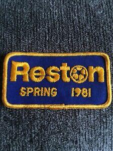 Reston Soccer Association Team Club 1980's Patch⚽️