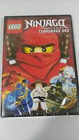 LEGO NINJAGO TEMPORADA DOS MAESTROS DE SPINJITZU DVD Nueva