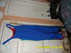 Raewiks Snow/Ski Snow Bibs Pants Suit, Large