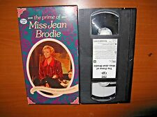 The Prime of Miss Jean Brodie (1969) Maggie Smith (Won Academy Award) VHS