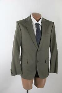 Drykorn grün-graues Sakko Gr.48/S Baumwollmischung Top Zustand