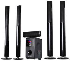 beFree Sound - 5.1-Channel Bluetooth Speaker System - Black
