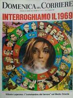 DOMENICA DEL CORRIERE N.2 1969