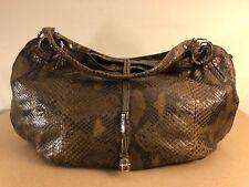NEW LIKE CELINEBittersweet Large Tote / Browns Snakeskin / Leather Shoulder Bag