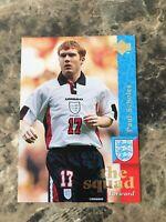 1997/98 UPPER DECK ENGLAND PAUL SCHOLES ROOKIE CARD RC MANCHESTER UNITED VINTAGE