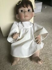 """Lee Middleton Rare """"Little Angel"""" W/Certificate & Small Bible"""
