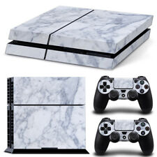 PS4 Skin Sticker Decal Cover 2 Controllers MARBLE STONE