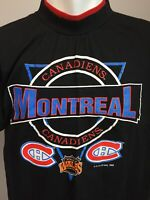 Vtg Montreal Canadiens 1992 NHL T Shirt Prince Wales Conference Extra Large XL