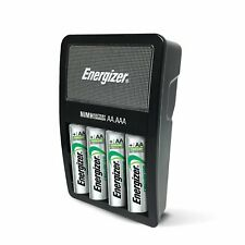 Energizer Rechargeable Aa and Aaa Battery Charger with 4 Aa Rechargeable