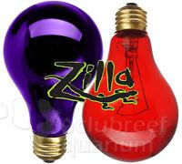 Zilla Night Red Black 25 50 75 100 150 W/Watt Heat Light Reptile Terrarium Bulb