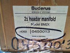 Buderus 2X Header Manifold 4069 - 0450013 Model BM2X