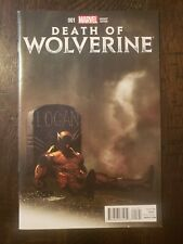 DEATH OF WOLVERINE #1 2014 VF+/NM- VARIANT EDITION
