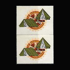 Tonga, Sc #CO179-80, MNH,1980, Boy Scout Jamboree, Rotary International, TDD-9