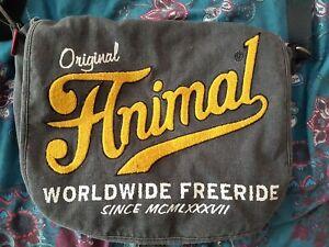 Animal Shoulder Strap Bag Rucksack Grey Satchel Laptop Carrier