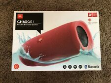 Original Empty JBL Charge 3 RED Portable Bluetooth Waterproof Speaker Box (Only)