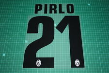 Juventus 12/13 #21 PIRLO 3rd Awaykit Nameset Printing