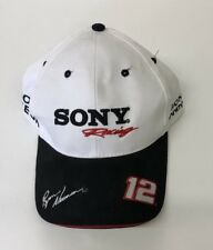 """""""SONY"""" RACING Ryan Newman 2003 DRIVER OF THE YEAR.White RACING HAT/CAP **NASCAR*"""