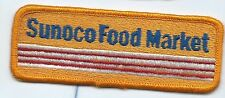 Sunoco oil company Food Mart Employee/driver patch 1-5/8 X 4-1/2