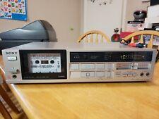 Vintage sony stereo cassette deck Tc-Fx210