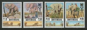 Botswana 2008 Elephants in Botswana set SG 1103-1106 Mnh.