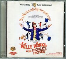 Willy Wonka & the Chocolate Factory - Gene Wilder Original Video CD VCD Set Rare